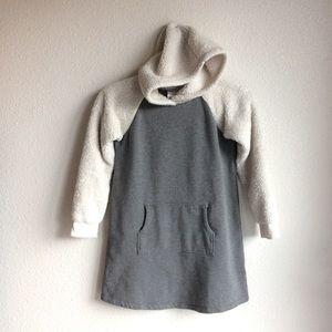 Hanna Anderson French Terry Hoodie Dress Size 8